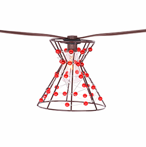 Outdoors Mid-Century Plug-in String Lights